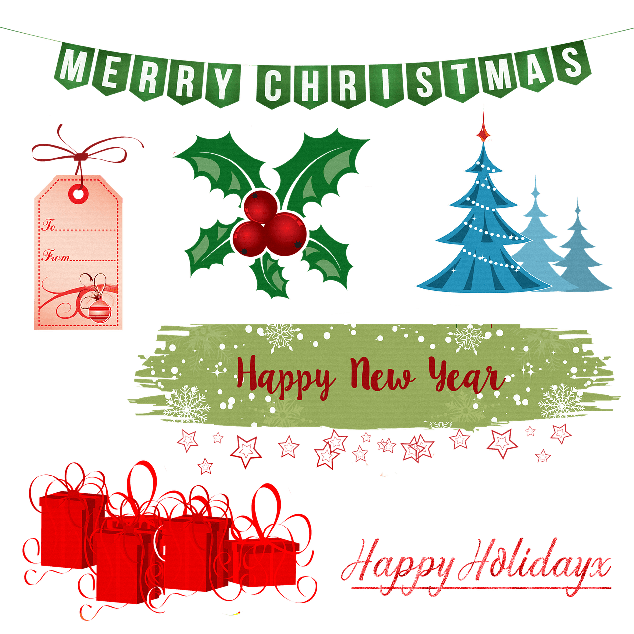 Wishing You A Merry Christmas And A Happy Healthy And Prosperous New Year