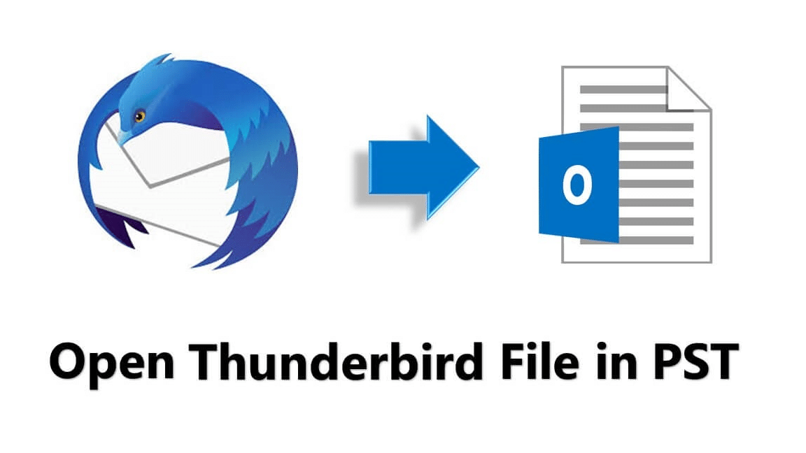 How Can I Export Thunderbird File to .pst Format?